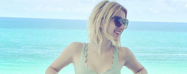 Emma Roberts im Florida-Urlaub