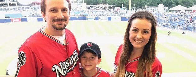 Evan Bass, Sohn Ensley und Carly Waddell
