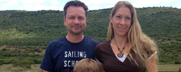 Familie Heidtke auf ihrer Farm in Südafrika