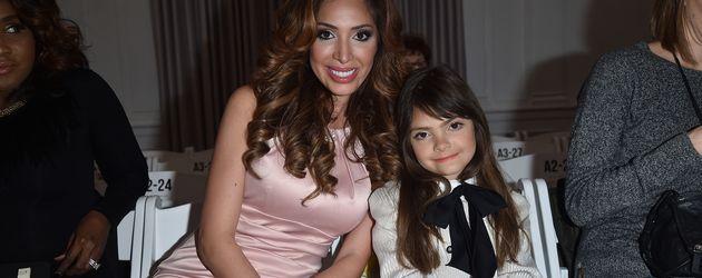 Farrah Abraham mit Tochter Sophia auf der New York Fashion Week 2016