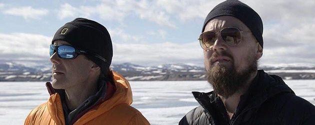 Fisher Stevens und Leonardo DiCaprio