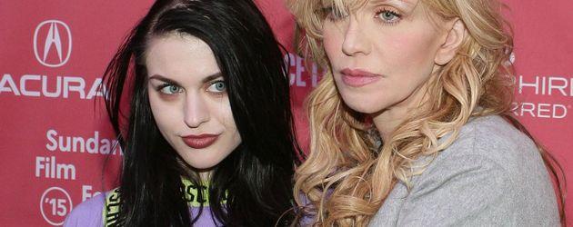 Courtney Love und Frances Bean