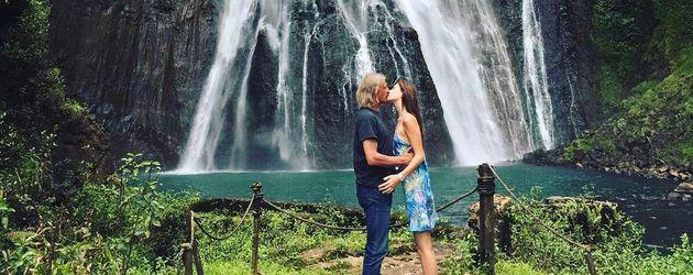 Frank Otto und Nathalie Volk auf Hawaii