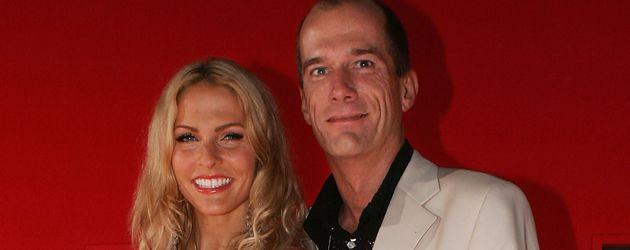 Georg Uecker mit Sonya Kraus im Jahr 2005