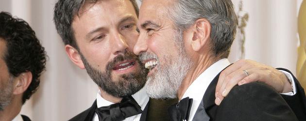 George Clooney und Ben Affleck bei den Oscars