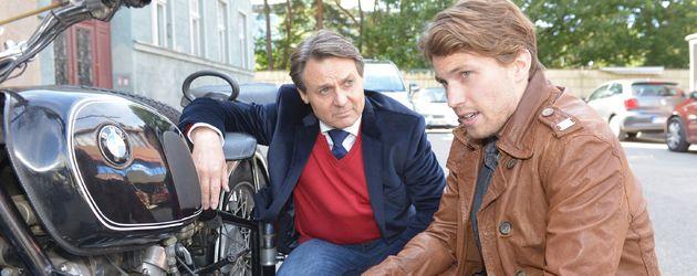 Wolfgang Bahro und Raúl Richter bei GZSZ