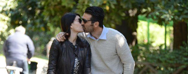 Gianluigi Buffon und seine Frau Ilaria D'Amico