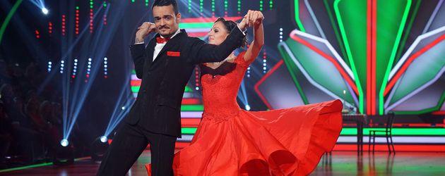 """Giovanni Zarrella und Marta Arndt bei """"Let's Dance"""" 2017"""