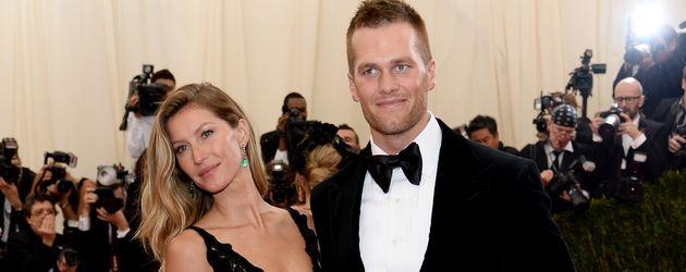 Gisele Bündchen und Tom Brady auf der Met-Gala 2014