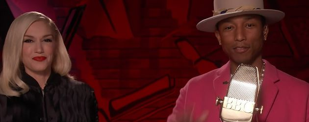 Gwen Stefani und Pharrell Williams