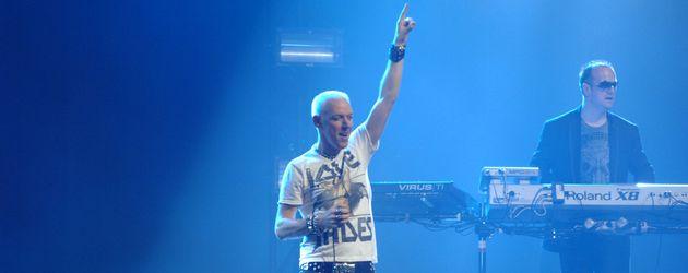 H.P. Baxxter auf der Bühne beim Viva Comet 2011