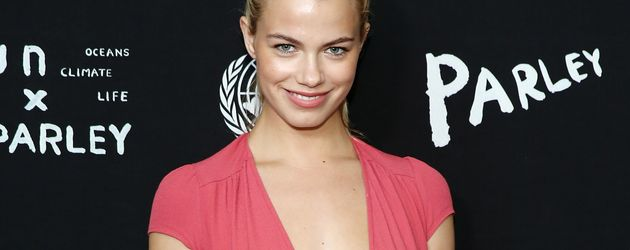 Hailey Clauson beim United Nations x Parley For The Oceans Launch Event