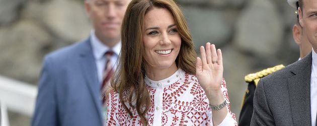 Herzogin Kate zu Besuch in Kanada
