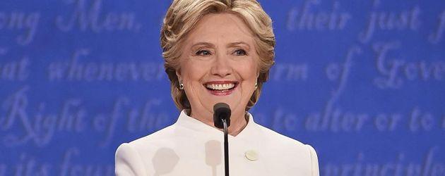 Hillary Clinton bei der 3. TV-Debatte in Los Angeles