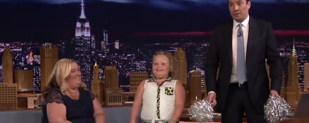 Jimmy Fallon, Honey Boo Boo und June Shannon