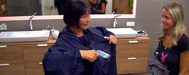 Schauspielerin Isa Jank mit Cathy Lugner