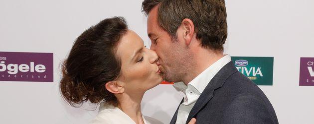 Schauspieler Jan Hartmann und seine Frau Julia