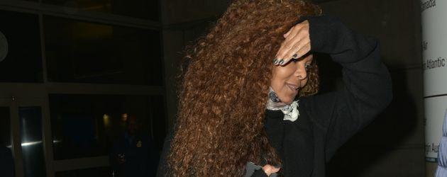 Janet Jackson im September 2016 am Flughafen Los Angeles