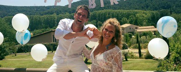 Peer Kusmagk und Janni Hönscheid in der französischen Region Provence-Alpes-Côte d'Azur