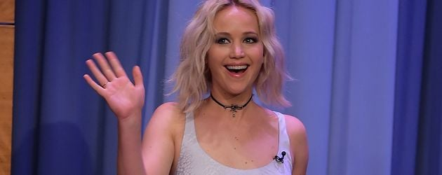 "Jennifer Lawrence in der ""The Tonight Show Starring Jimmy Fallon"" im Mai 2016"