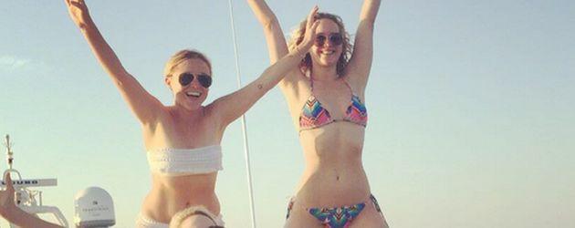 Jennifer Lawrence und Amy Schumer