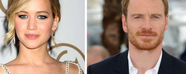 Jennifer Lawrence und Michael Fassbender