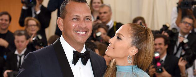 Jennifer Lopez und Alex Rodriguez bei der Met Gala in New York