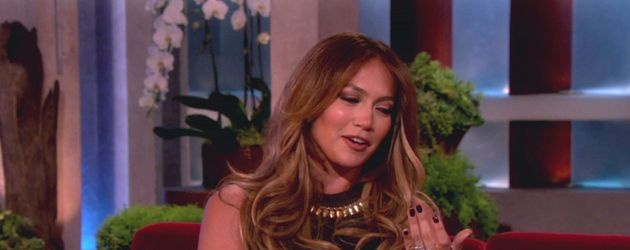 Jennifer Lopezin der Ellen de Generes Show