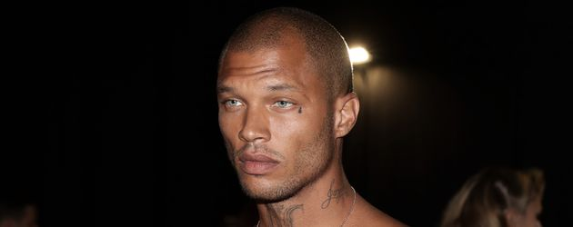 Jeremy Meeks bei der Fashion Week 2017 in Mailand