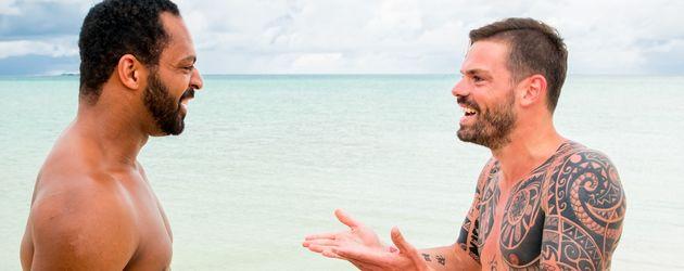"""Jesse und Daniel Köllerer bei """"Adam sucht Eva - Promis im Paradies"""""""