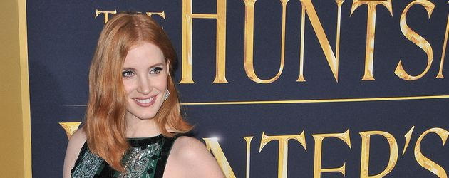 "Jessica Chastain auf der Premierenfeier zu ""The Huntsman & The Ice Queen"""