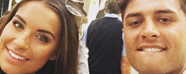 """Jessica Rose und Mike Thalassitis, bekannt aus """"Love Island"""""""
