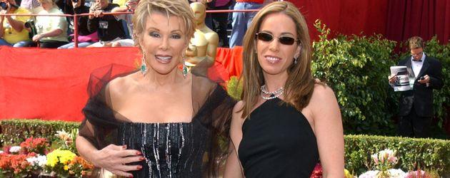 Joan und Melissa Rivers auf den 74. Oscars, 2002
