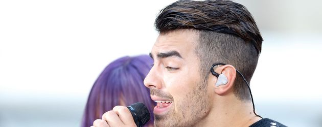 "Joe Jonas bei der ""Today Show"" in New York City"