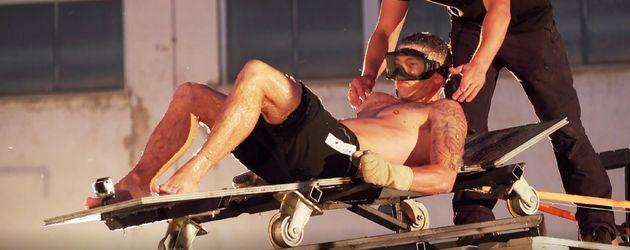 "Joey Heindle bei ""Crash Test Promis"""