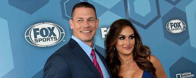 John Cena und Nikki Bella, WWE-Superstars