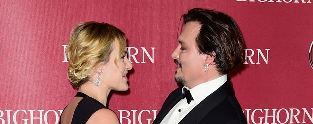 Johnny Depp und Kate Winslet