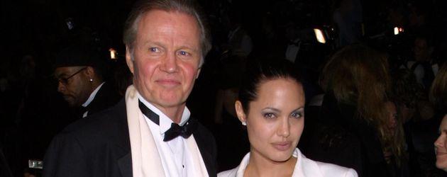 Jon Voight und Angelina Jolie