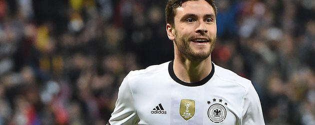 Jonas Hector beim Freundschaftsspiel Deutschland vs. Italien