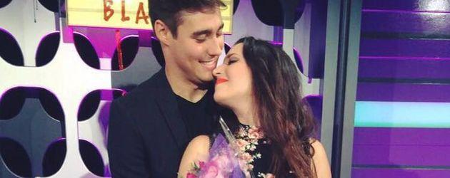 Jorge Blanco und seine Verlobte Stephie Caire
