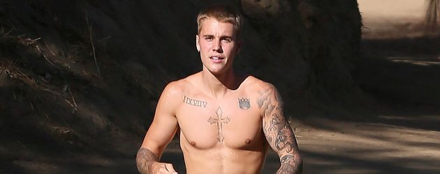 "Justin Bieber im ""Runyon Canynon Hike Trail"" in Los Angeles"
