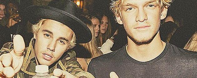 Justin Bieber und Cody Simpson