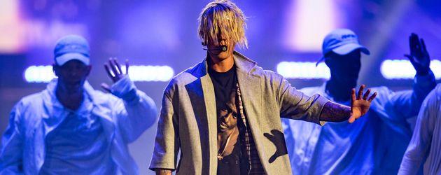 Justin Bieber während seiner Tour