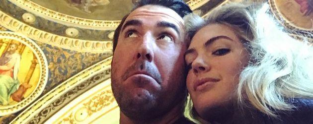 Justin Verlander und Kate Upton in Florenz 2016