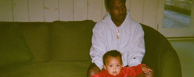 Kanye West mit Saint West