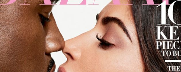 Kanye West und Kim Kardashian auf dem Harper's Bazaar 2016