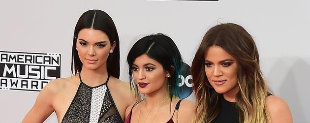Khloe Kardashian, Kylie Jenner und Kendall Jenner