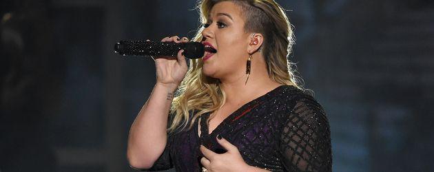 Kelly Clarkson während der Billboard Music Awards 2015