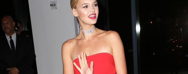 Kelly Rohrbach bei einem Dinner in New York