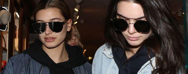 Kendall Jenner und Hailey Baldwin